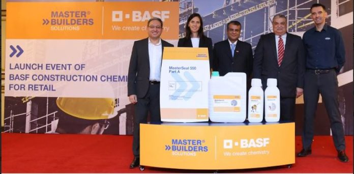 6683ca5aceb9 Master Builders Solutions launches construction chemicals at over 200  stores in Karachi